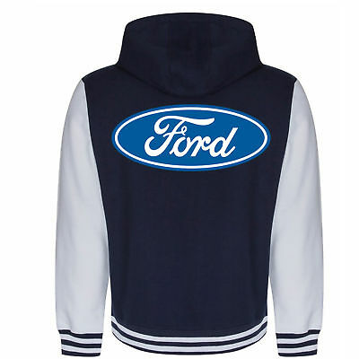 Acheter US Taille US Logo Ford Mustang Hoodies Zipper