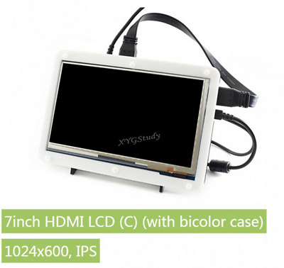 7 inch HDMI 1024*600 Touch Screen LCD (C) Display for Raspberry Pi + Cover Case