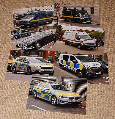 7x 6x4 police vehcile photos inc Met and City