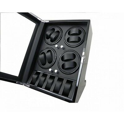 Vitrina movimiento relojes Watch Winder 8 Negra 088BB