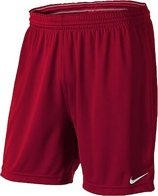 Shorts Football/ Soccer Nike Park Varsity Red Adult Medium Save $8.00