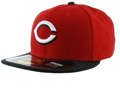 Cincinnati Reds 59FIFTY Hommes MLB Casquette Baseball By New Era Taille 7 1/8