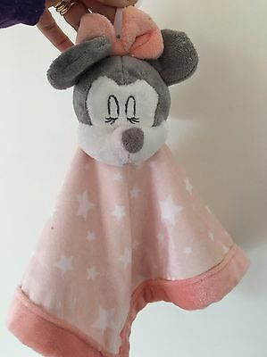 Disney Baby Minnie Mouse Security Blanket. New With Tags. Collect Or Post