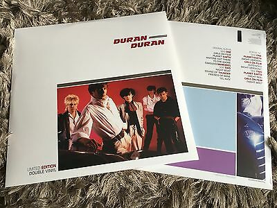 Duran Duran - Self Titled The Album - Sealed Vinyl LP Planet Earth Girls On Film
