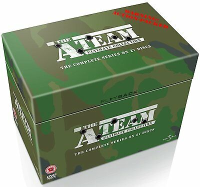 The A-Team: Complete Season (Series) 1 2 3 4 & 5 Ultimate Collection Box Set DVD