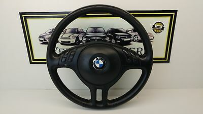 Bmw E46 Series Multifuntion Leather Steering Wheel With Airbag