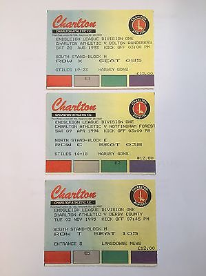 Charlton Match Tickets