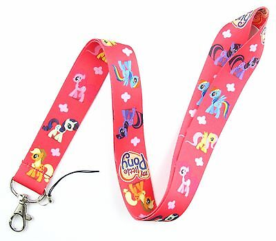 SPECIAL PROMOTION!! 1Pcs My Little Pony Lanyard ID Holder Mobil Phone Q243