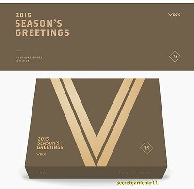Last one, VIXX 2015 SEASON'S GREETINGS Calendar+Scheduler+Calendar+Bookmark+DVD