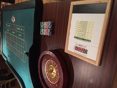 Roulette Table  - Full Size - Excellent for Christmas & New Years Parties