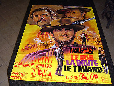 THE GOOD, THE BAD, AND THE UGLY Original French Grande, C8.5 Very Fine/Near Mint