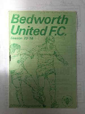 1973/74 BEDWORTH UNITED v BLETCHLEY TOWN (SOUTH LEAGUE)
