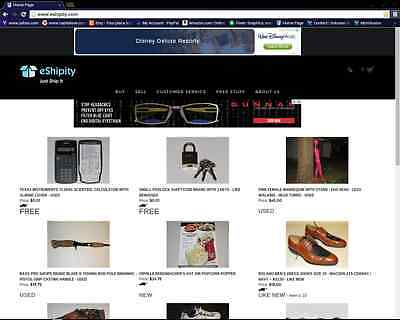 eShipity.com Website For Sale - Online Marketplace - Domain & All Inventory