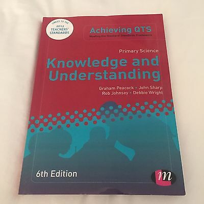 Primary Science Knowledge and Understanding 6th Edition