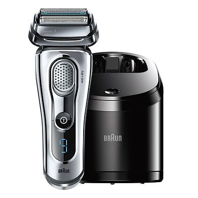 Brand New Braun Series 9 9095Cc Wet And Dry Men's Electric Shaver Silver