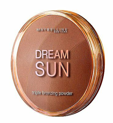 Maybelline Dream Terra Sun Bronzing Powder - 02 Golden Soleil Hale