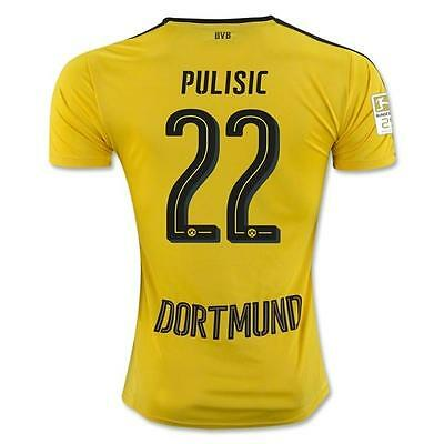 Borussia Dortmund Home jersey PULISIC 22 for size S