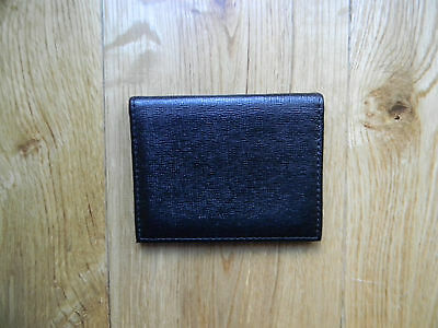 Aspinal Black Leather Card Case
