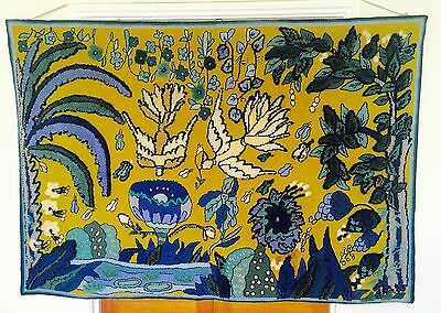 Concessa Colaço Tapeçaria  Brazilian mid 20th Century Wall Hanging Tapestry 1.9m