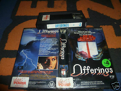 Offerings Vhs/ Very Rare & Original Roadshow/applause Horror Video