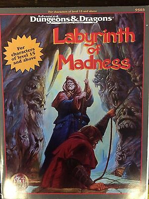 Dungeons & Dragons - Labyrinth of Madness