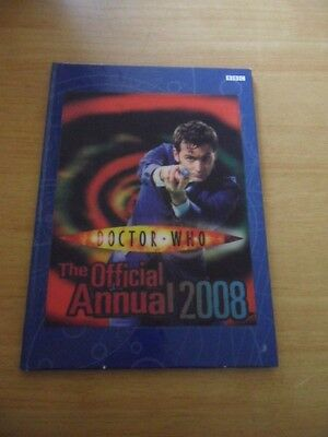 Doctor Who ~ The Official Annual 2008 ~ Hardback Book