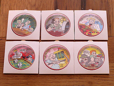 Las Vegas NV Palace Station Casino Chips Set (6) 2001 Collector Series 1 of 500