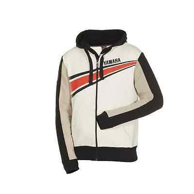 Genuine Yamaha Apparel REVS Sirius Hoody Broken White
