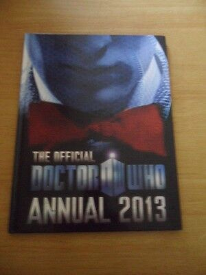 Doctor Who ~ The Official Annual 2013 ~ Hardback Book