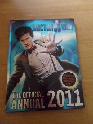 Doctor Who ~ The Official Annual 2011 ~ Hardback Book