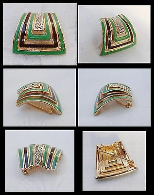 """VINTAGE SPILLA ANNI '80 - """" Atwood and Sawyer  """" STYLE - PIN BROOCH THE 80"""