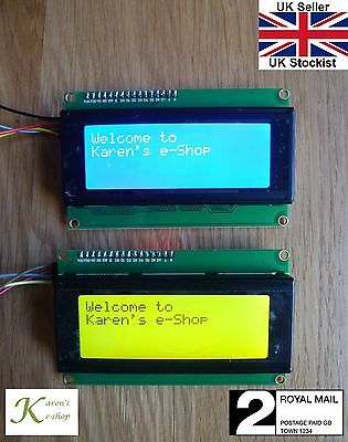 IIC/I2C/TWI 2004 20x4 LCD Display Module for Arduino