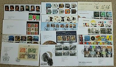 GB 2010 FDC Collection Set of 16 covers ,Special postmark.
