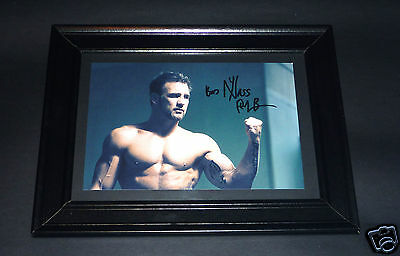 FORMER UFC MIDDLEWEIGHT CHAMP PHIL BARONI SIGNED AUTOGRAPHED DISPLAY mma wwe