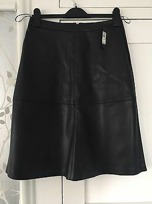 River Island Leather Look Skirt BNWT Size 12