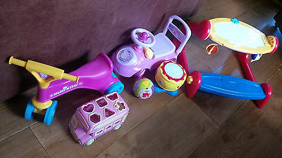 Baby and toddler 6 toy bundle