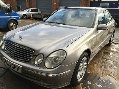 2003 Mercedes E320 Cdi Avantgarde A Leather,sat Nav, Panoramic Roof 11 Services