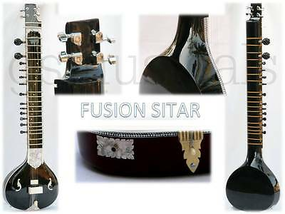 Sitar Black Pearl For Fusion Music Gsm012