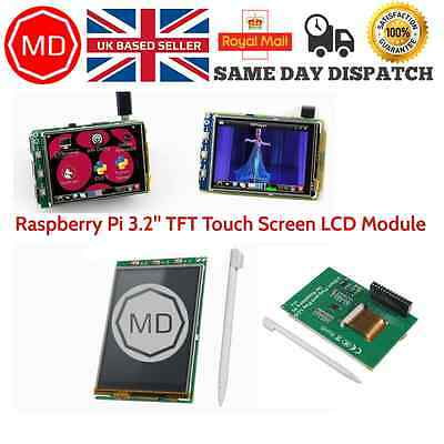 3.2'' TFT LCD Module Touch Screen Display Monitor For Raspberry Pi B+ B A+ Board