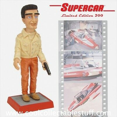 Retired / Robert Harrop Gerry Anderson Supercar Mike Mercury Figure New in Box!