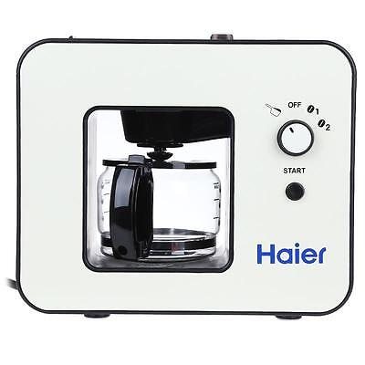 Haier Coffee Maker - Bean Grinder, 4 Cup Capacity, Keep Warm Function.