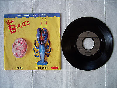 """the B-52's - ROCK LOBSTER / PLANET CLAIRE 7"""""""