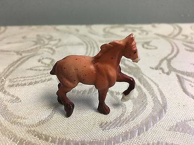 Breyer Mini Whinnies 6 Drafts High Stepping Draft Horse 300117 Chestnut Roan