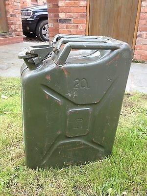 20L Military/army Issue Jerry Fuel Can, Metal - Midlands Area Ws9