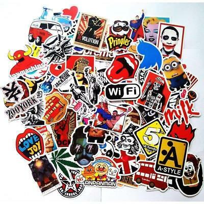 50 random vinyl decal graffiti sticker bomb laptop waterproof stickers skate