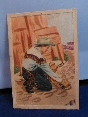 Roy Rogers Post Cereal PopOut Card # 6
