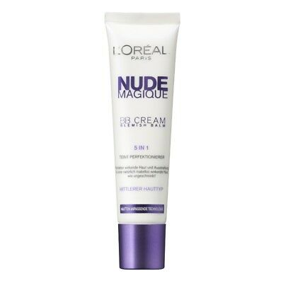 L'Oreal Nude Magic BB Cream 5-in1 Blemish Balm Cream - Medium