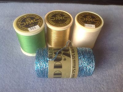 DMC lacemaking threads - Free Postage