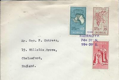 Norway Bear Island Seapost Paquebot Cover