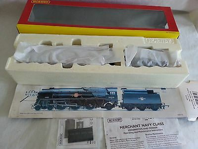 Hornby R2710 Br Merchant Navy 4-6-2 Br Green Blue Star New Unused Boxed